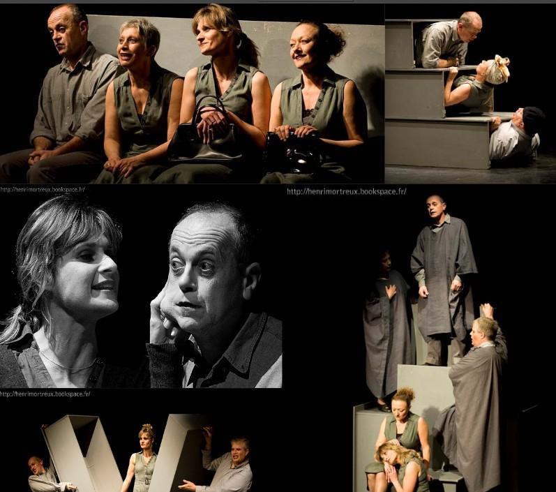 Festival Sur Un Plateau-La mastication des morts-Cie de la cordée 2012