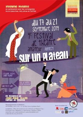 SurUnPlateau-Affiche 2014