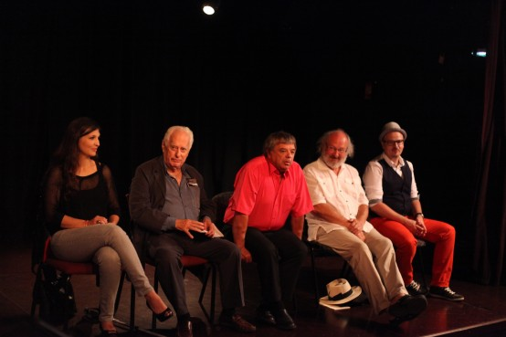 SurUnPlateau Festival 2014 Table ronde © Yannick Perrin